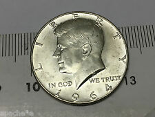 John. F. Kennedy Liberty In God We Trust 1964 Half Dollar United States Of Ameri