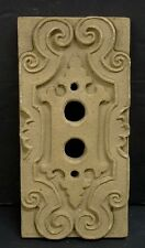 Vintage Ceramic Push Button Light Switch Plate (3)