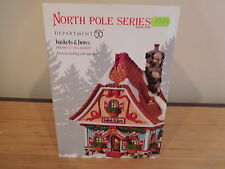 Dept 56 North Pole - Baskets & Bows - NIB