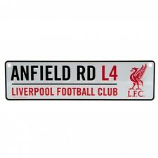 Liverpool Fc Window Sign White Football Stadium Sign Anfield Road L4 LFC New