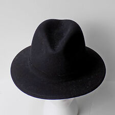 NWT Bailey® for J.Crew felt hat Black Medium- Large $98 08914