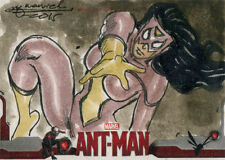 Marvel Ant-Man Movie Sketch Card by Mark Marvida of Spider-Woman