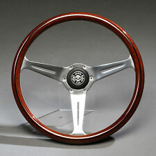 Holzlenkrad Sportlenkrad Lenkrad Holz 360mm Nabe Mercedes W107 W114 W115 W116 /8