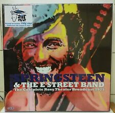 Bruce Springsteen & The E Street Band The Complete Roxy Broadcast 1975 caja 3-LP