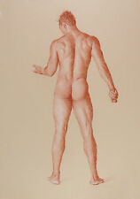 MALE NUDE limited edition print GAY ART INTEREST PRINT. FITS IKEA FRAMES