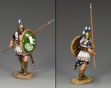 AG031 Hoplite Soldier with Long Spear (45 Degrees) by King and Country