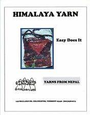 Himalaya Yarn Easy Does It Purse Knitting Pattern - Easy Beginner Level Bag