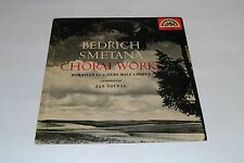Bedrich Smetana~Choral Works~Jan Soupal~Moravian Teachers Male Chorus~IMPORT
