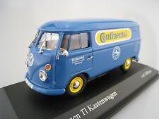 """VW T1 Kastenwagen """"Continental"""" * Limitiert auf 1.008 *  Minichamps* 1:43* OVP"""