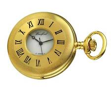 Woodford Gold Plated Mechanical Half Hunter Pocket Watch. Hand Wind  ref 1056
