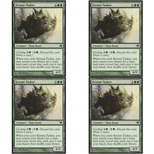 4 x KROSAN TUSKER NM mtg Heroes vs Monsters Green - Creature Boar Beast Com