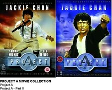 THE PROJECT A MOVIE COLLECTION DVD DOUBLE PACK Part 1 2 Jackie Chan New UK