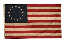 3x5 Betsy Ross Vintage Embroidered Flag (Premium Quality Polyester), 3' X 5'