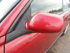 SUBARU IMPREZA WRX BUG EYE NEAR SIDE FRONT WING MIRROR COLOUR CODE 94H RED