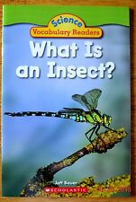 What Is An Insect Science Vocabulary Readers  Book Level Reader Teacher