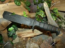 Survival knife/Bowie/Chisel/Licensed Army/Heavy duty/MOLLE/ 5MM/Hunting/Zombie