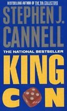 King Con by Stephen J. Cannell (1998, Paperback) DD2096