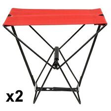 Fold Camping Pocket Chair Fishing Portable Outdoor Stool Pockets Trendy  x 2