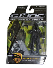 G.I. Joe the Rise of Cobra Snake Eyes Paris Pursuit  Action Figure