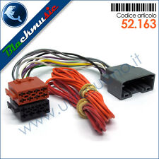 Cavo adattatore ISO autoradio Chrysler Town&Country 5 (dal 2008) no active syst.