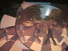 BEATLES Abbey Road LP unplayed PICTURE DISC LTD die cut