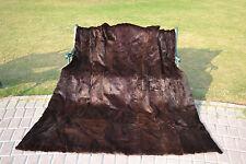 """New LUXURY QUEEN Blanket Real Sheared Rabbit Fur Pelz Throw BedSpread 82""""X71"""""""