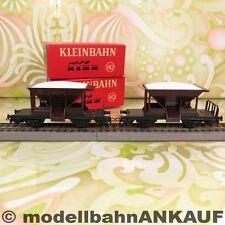 KLEINBAHN 2 x 335 - H0 - DB - Talbot Schotterwagen - OVP - #K9782-G10