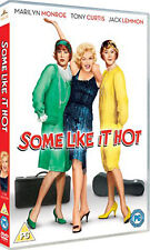 SOME LIKE IT HOT - DVD - REGION 2 UK