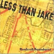 Less Than Jake Borders & Boundaries CD+Bonus tracks NEW SEALED 2001 Ska Punk