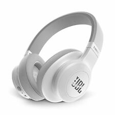 JBL E55BT Signature Sound Bluetooth Wireless Over Ear Foldable Headphones White