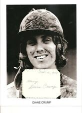 Diane Crump Autograph Jockey Horse Racing Kentucky Derby Bridle n Bit Hialeahl 1