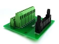 IDC-20 Male Header Connector Breakout Board Adapter : £13.75 FREE p&p