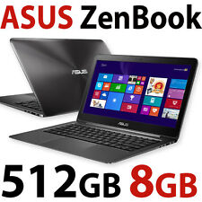 "8GB 512GB SSD Asus Zenbook FULL HD 13.3"" UltraSlim Laptop UX305 PC"