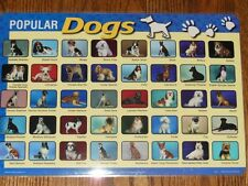 Learning Placemat - Popular Dogs *NEW* M. Ruskin Co.