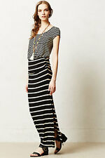NWT Anthropologie Stripescope Maxi Dress by Everleigh Made In USA 5 stars Size L