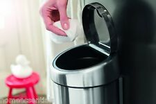 Brabantia Small Touch Bin 3 Litre Matt Steel Wall Mounting 3L Soft Touch Toilet