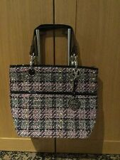 EYECATCHING SUZY SMITH TOTE BAG /BARELY USED/ GOOD CONDITION