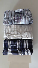 Calvin Klein Woven Boxers (3x pack)