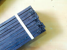 Ebony Guitar Fingerboards : Master Grade AAA Pack of 10 Jet Black for Luthiers