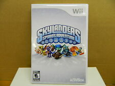 Wii SKYLANDERS SPYRO`S ADVENTURE Rated E-10+ Complete Very Good Condition