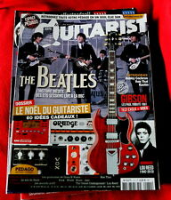 Guitararist & Bass French magazine # 272 The Beatles Lou Reed Gibson