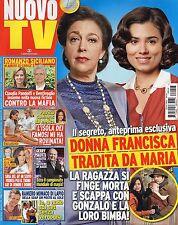 Nuovo Tv 2016 18#Il Segreto-Donna Francisca-Maria,Gerry Scotti,Carolina Marconi