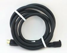 10' 10 Gauge Black Heavy Duty Extension Cord - MADE IN USA