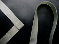 Latex Rubber Trim Strips .50mm Thick, 5mm x200cm, Metallic Silver