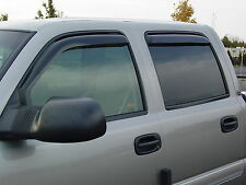 Toyota Tundra Double Cab 2004-2006 In Channel Wind Deflector Visors 72-88401