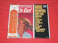 THE VENTURES LET'S GO!  MONO STEREO  JAPAN MINI LP SHM CD