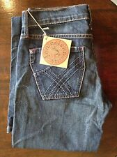James cured By Seun womens blue boot cut jeans 26' 35L