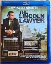 The Lincoln Lawyer Blu-ray disc with case artwork