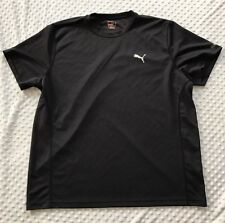 Men's PUMA Athletic Short Sleeve Shirt, Sport Lifestyle, Navy Blue XXL 2XL