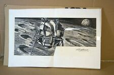 AIRFIX NASA LUNAR MODULE ORIGINAL ROY CROSS ARTWORK